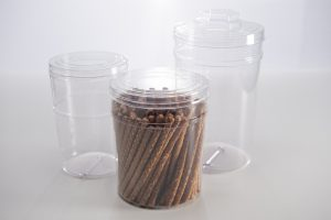 Priority Plastics PET Snack Packaging