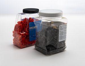 Priority Plastics Hardware Containers PET